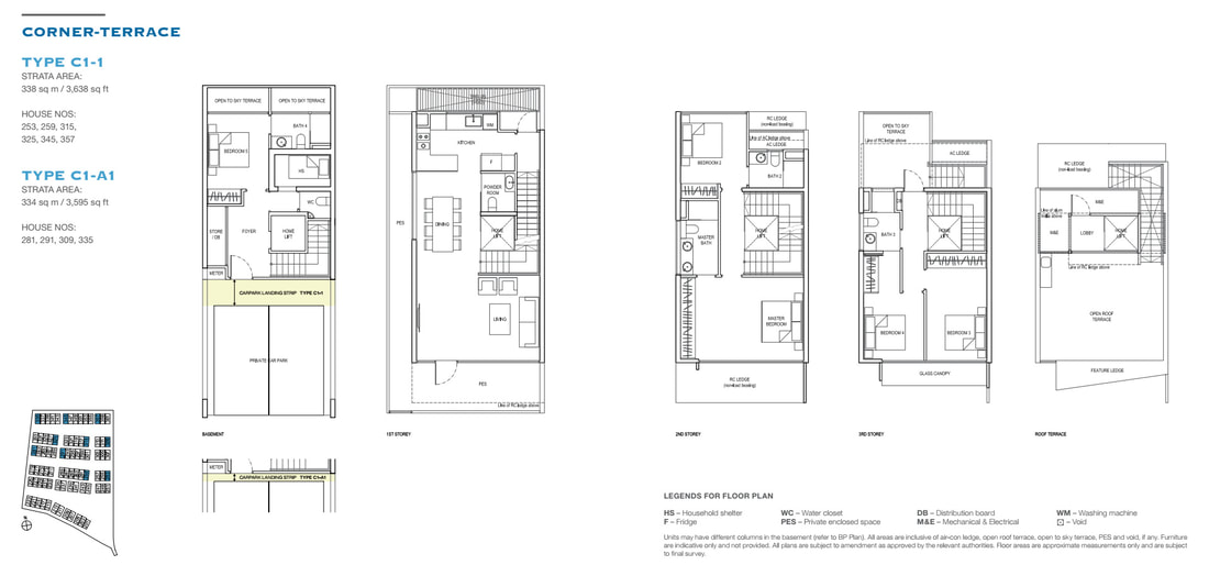 Belgravia Green Sample Floor Plan